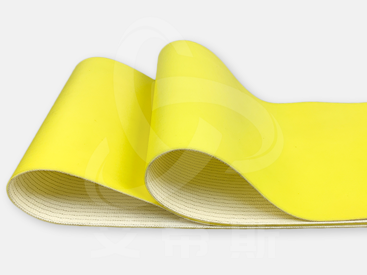 黄色pvc输送带