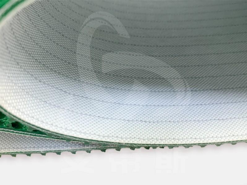 绿色草纹输送带