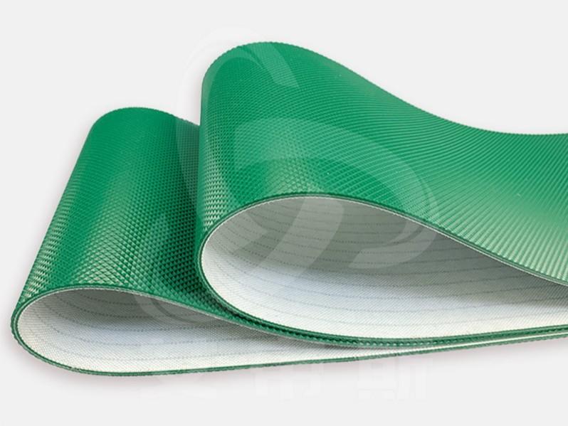 绿色钻石纹输送带