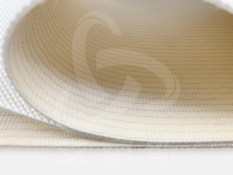 白色钻石纹输送带