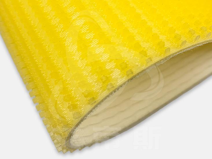 黄色草纹输送带